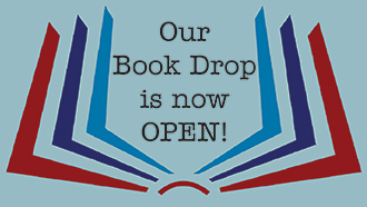 Our Book Drop is Now Open